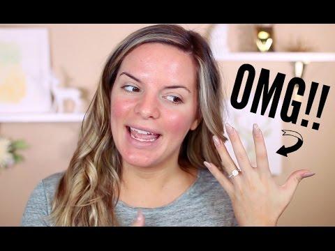 Talk Through GRWM & IM ENGAGED!! | Casey Holmes