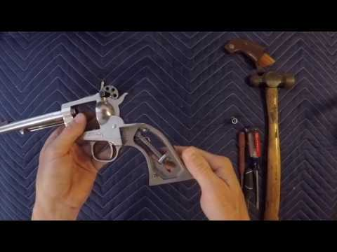 Ruger single six, full take down