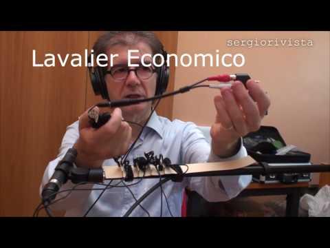 Test 4 microfoni lavalier: Rode, economico, Aputure, Sennheiser