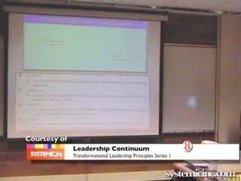 8 Transformational Leadership Series; Leadership Continuum