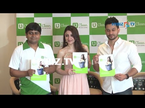 Soha Ali Khan Launches U Clean Store at Hitec City