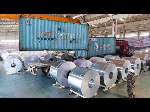 US announces duties on aluminum imports from China