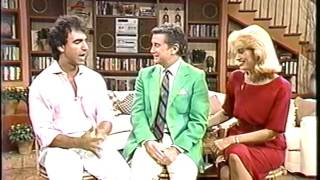 Jay Thomas, Regis Philbin, Cyndy Garvey WABC 7 NYC