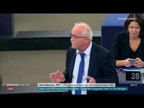 Sitzung des Europäischen Parlaments zu den Brexit-Ver ...