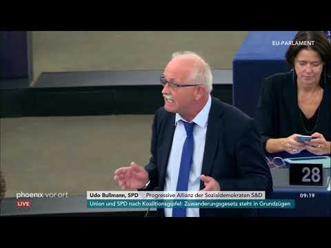 Sitzung des Europäischen Parlaments zu den Brexit-V ...