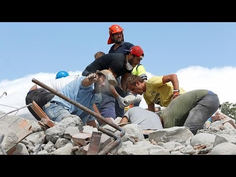 Ιταλία: Στους 267 οι νεκροί από τον φονικό σεισμό – Σβήνουν οι ελπίδες για τον εντοπισμό επιζώντων