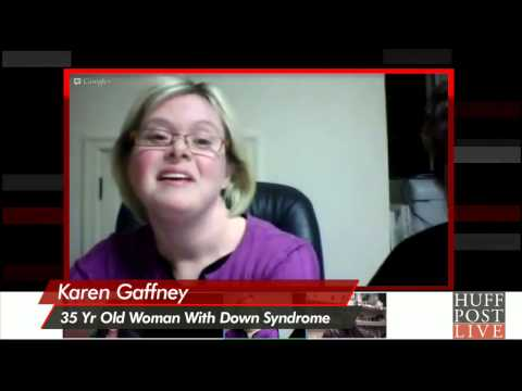 Watch video Down Syndrome Self Advocate
