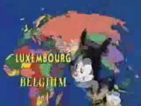 Nations - Animaniacs - Nations Of The World.