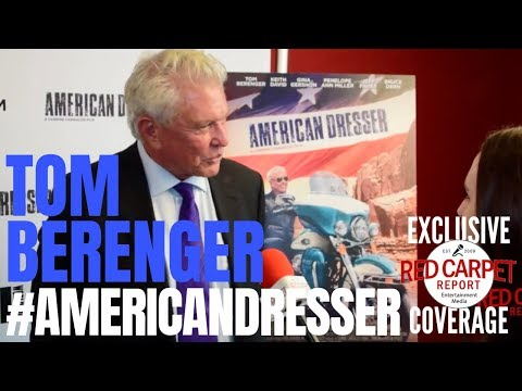 Tom Berenger interviewed at the premiere for American Dresser In theaters Friday, 9/21