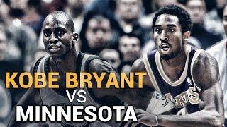 Kobe Bryant vs. Minnesota Timberwolves by Lakers Nation