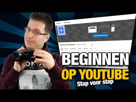 Hoe begin je stap voor stap een succesvol YouTube kanaal?