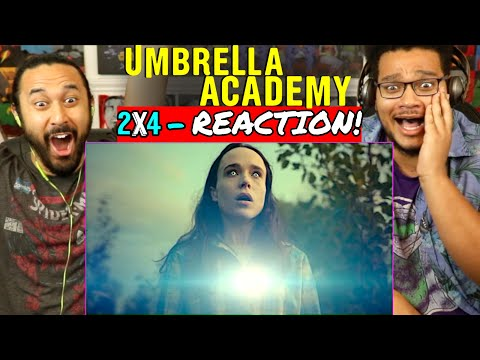 "THE UMBRELLA ACADEMY | S2, Ep. 4 ""The Majestic 12"" - REACTION!"
