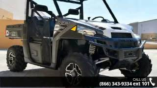 8. 2016 Polaris RANGER XP 900 EPS Titanium Matte Metallic  -...