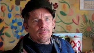 映画『しあわせの絵の具 愛を描く人』イーサン・ホーク インタビュー