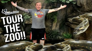 Reptile Zoo Full Tour Cage by Cage!   BRIAN BARCZYK by Brian Barczyk