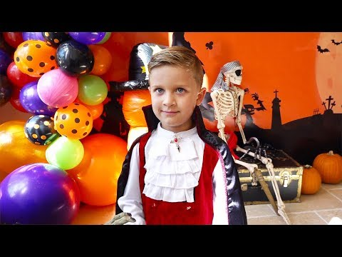 Roma's 7th Birthday! Huge Halloween Party!