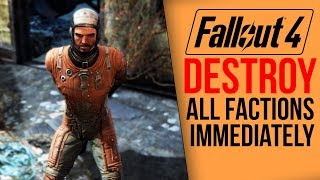 Video [Fallout 4] What happens if you destroy all factions IMMEDIATELY? MP3, 3GP, MP4, WEBM, AVI, FLV Desember 2018