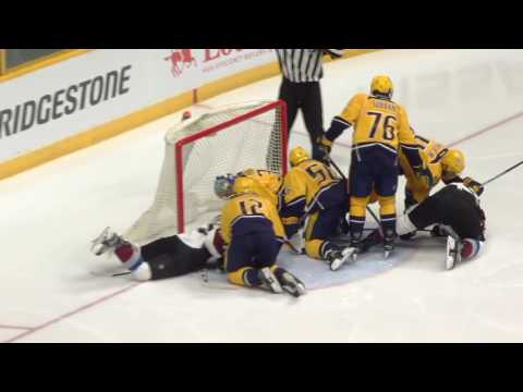 Video: Colorado Avalanche vs Nashville Predators | NHL | 23-FEB-2017