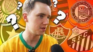 Corinthians? Flamengo? Torcedores estrangeiros apontam clubes brasileiros que conhecem.