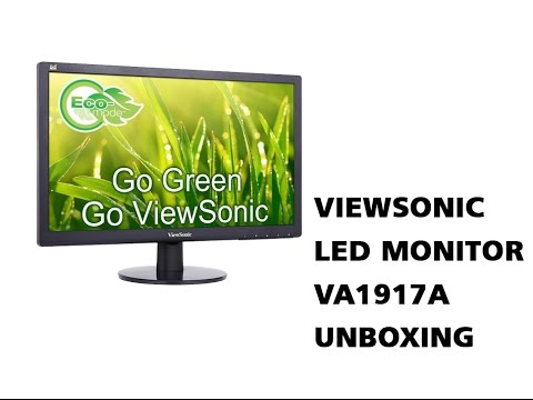 Viewsonic VA1917A Led Monitor Unboxing in Hindi