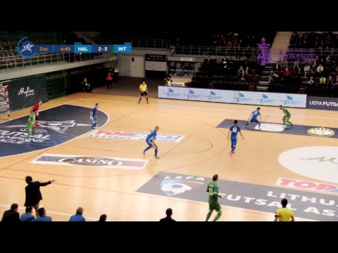 HALLE-GOOIK Vs MOVISTAR INTER FS | UEFA Futsal Champions League 2018/19