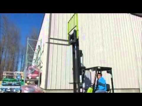 For Sale Clark TM15S Electric Forklift 3,000 lbs 24 Volt 188