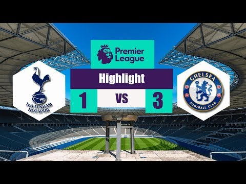 Chelsea vs Tottenham Hotspur 1-3 - All Goals & Extended Highlights - All Goals EPL 01/04/2018