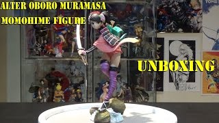 An unboxing video of the Alter Oboro Muramasa Momohime figure . Add me on PSN: Omegabalmung Subscribe If you like my videos: http://www.youtube.com/user/Omeg...