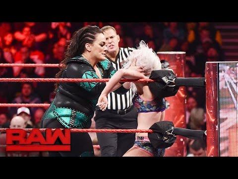 Nia Jax vs. Ray Lyn: Raw, Jan. 23, 2017