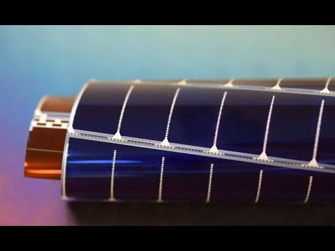 Manufacturing PowerFilm Solar Panels