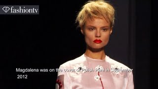 Magdalena Frackowiak: Model Talk | S/S 2013 | FashionTV