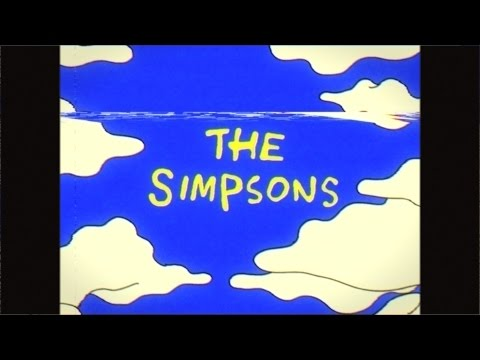 Weird Simpsons Intro Couch Gag