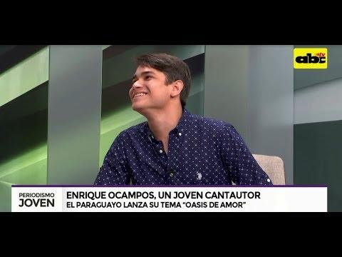 Enrique Ocampos se lanza como cantautor