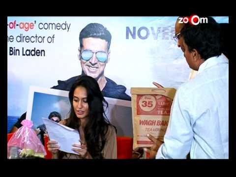 Lisa Haydon talks about Akshay Kumar's absence from 'The Shaukeens' pr...