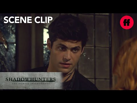 Shadowhunters   Season 3, Episode 4: Alec Questions Clary About Jace   Freeform