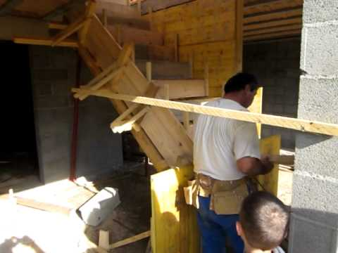 comment construire escalier beton