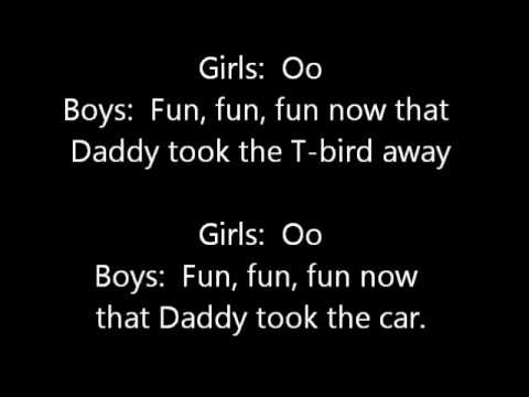 The Very Best of the Beach Boys Lyric Video