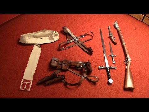 Shay costume (ACR): sash, belts & weapons tutorial