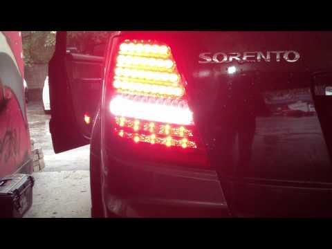 [Kspeed] superlux LED Tail Lamp Light replacement (Fit.KIA 03-09 Sorento)
