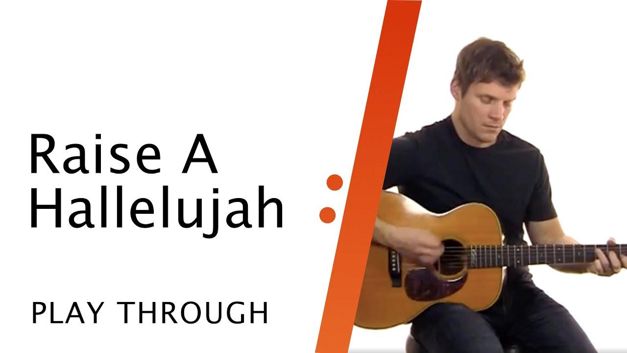 Acoustic Guitar Tutorial // Raise A Hallelujah // Bethel