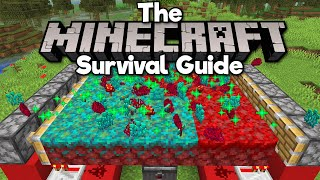Nether Fungus, Roots & Sprouts Farm! • The Minecraft Survival Guide (Tutorial Lets Play) [Part 324]