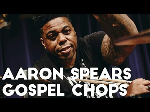 Aaron Spears Gospel Chops - Monday Drum Lesson #06 -