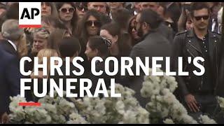 Video Brad Pitt, Christian Bale, Pharrell, Josh Brolin, more attend Chris Cornell's funeral MP3, 3GP, MP4, WEBM, AVI, FLV April 2018