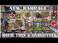 NEW RAMPAGE MOVIE TOYS & GAME TOYS