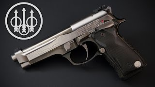 A quick overview on my limited edition Beretta 92 Billennium. Only 2000 of these were made to commemorate the year 2000, and just 1000 made it to the US market. I love a lot of things about it, including the quality all-steel construction, frame-mounted safety, and cool digital aesthetics, but as a shooter, it falls a bit short.