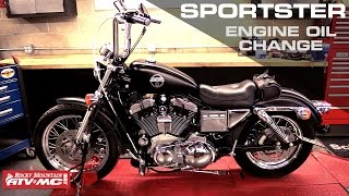 8. Harley Davidson Sportster Engine Oil Change