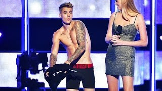 Nonton Justin Bieber Gets Naked At Fashion Show    What S Trending Now  Film Subtitle Indonesia Streaming Movie Download