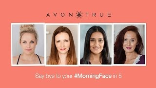 Say 'bye to your morning face with #Avon