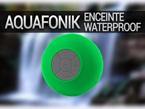 Mini Enceintes Waterproof Piscine Douche Wireless Bluetooth Micro Suction Shower