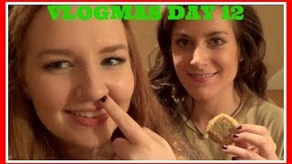VLOGMAS DAY 12: Baking with Breast Friends
